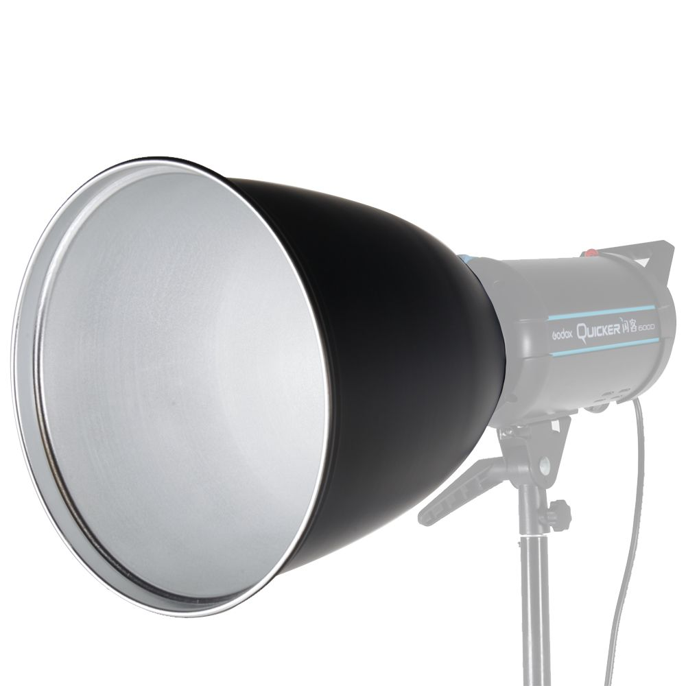 360mm Standard Reflector Diffuser Lamp Shade Dish with 45 Degree Honeycomb Grid for Bowens Mount Studio Strobe Flash Speedlite
