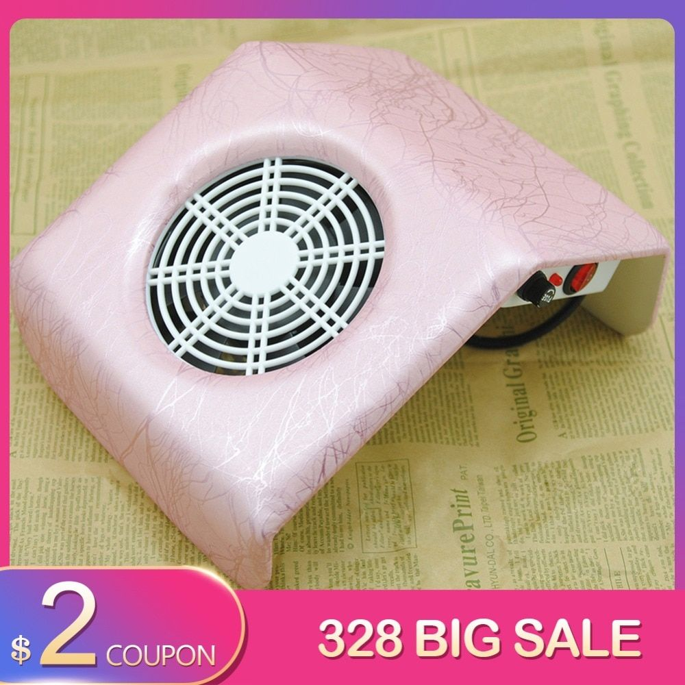 Nail Dust Collector Manicure Set Machine UV Gel Nail Polish Cleaner Manicure Tools Vacuum Cleaner kit For Nail Art Dust Cleaner