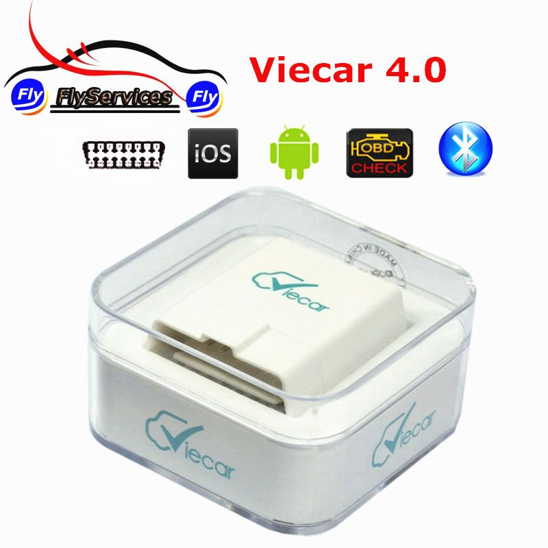 ELM 327 Viecar 4.0 Bluetooth OBD2 Diagnostic Tool Viecar ELM327 4.0 With Car HUD Display Function Support Android&IOS