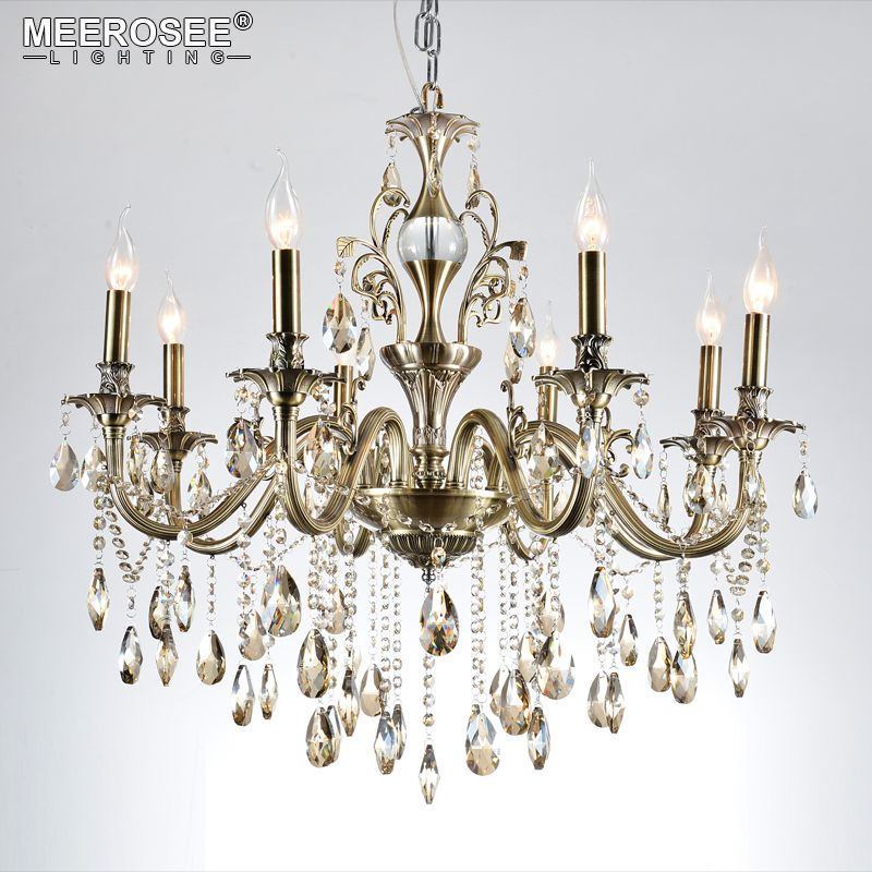 Modern Chandeliers Light Luxury Lustre Crystal Chandeliers Lighting Fixtures Lamp for Living Room Bedroom and Study Project Lamp