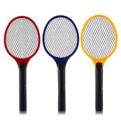Net Dry Cell Hand Racket Electric Swatter Home Garden Pest Control Insect Bug Bat Wasp Zapper Fly Mosquito Killer