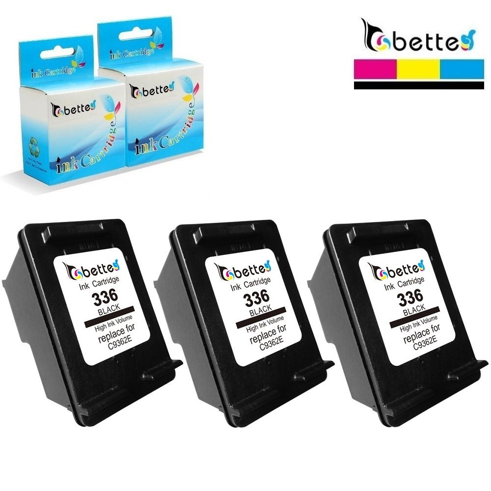 3X Ink Cartridge for HP 336 hp336 Photosmart C3100 C3110 C3125 C3135 C3140 C3150 C3170 C3173 C3175 C3180 C3183 C3188 C3190 C3193