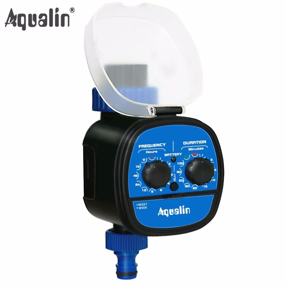 High Strength Waterproof Ball Valve Electronic Automatic Water Timer Garden Home Irrigation System With Delay <font><b>Function</b></font> #21049