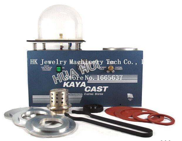 2015 hot KAYA Mini Vacuum Investing & Casting Machine Jewelry Lost Wax Cast Combination Free shipping