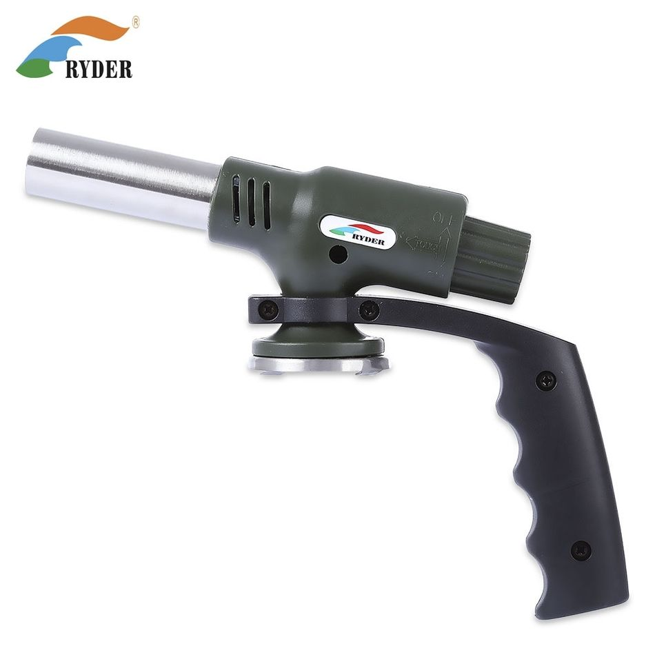 RYDER M2003 Outdoor Travel Camping Welding BBQ Electronic Ignition Gas Flamethrower Butane Burner
