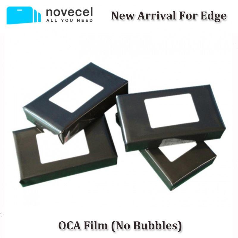 Novecel New Arrival 50pcs 150um OCA Optical Clear Adhesive for Samsung S7 edge S8 S8+ Note 8 OCA Glue Touch Glass Lens Film