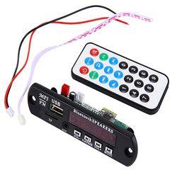 Wireless Bluetooth 12V MP3 WMA Decoder Board Audio Module TF USB Radio for Car