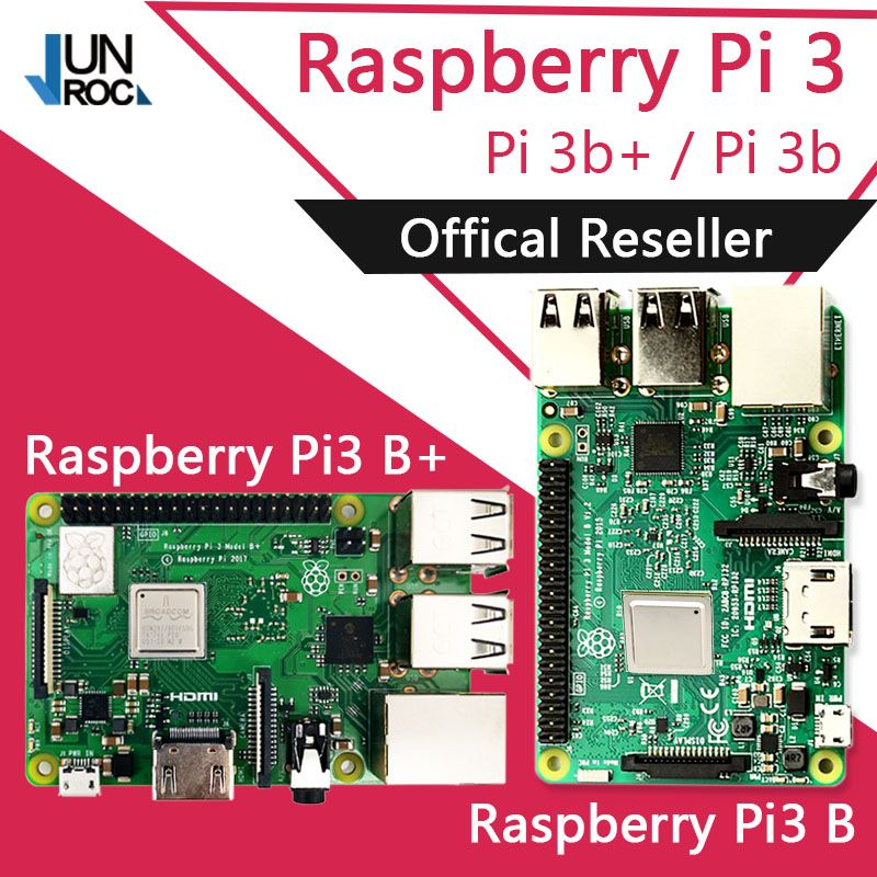 Original Element14 Raspberry Pi 3 Model B/B+ Plus BCM2837 1.2G raspberry pi 3 with 2.4G & 5G WIFI 4.2 Bluetooth and PoE