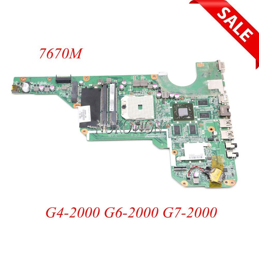683030-001 683030-501 683031-001 DA0R53MB6E0 DA0R53MB6E1Laptop Motherboard Für Hp G4 G6 G4-2000 G6-2000 G7 G7-2000 7670 mt arbeits
