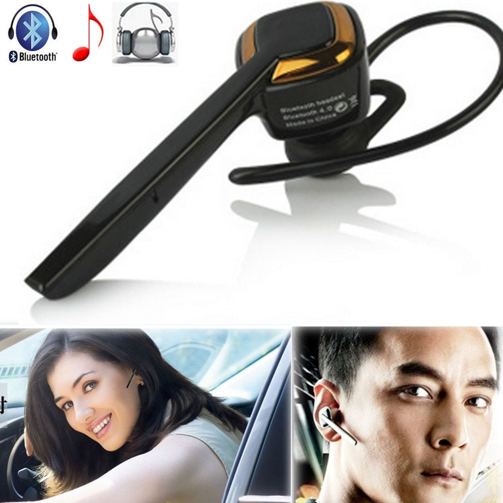 Wireless Stereo A2DP Bluetooth Headset Heaphone Earphone With Mic Handsfree For Samsung Huawei LG HTC Motorola ZTE iPhone Tablet