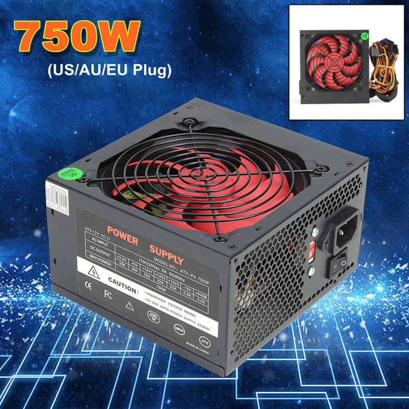 MAX 700 Watt ATX netzteil 12 V Gaming Pc-netzteil 24Pin/PCI/SATA/ATX 700 Walt 12 CM Fan Neue Computer-netzteil Für BTC
