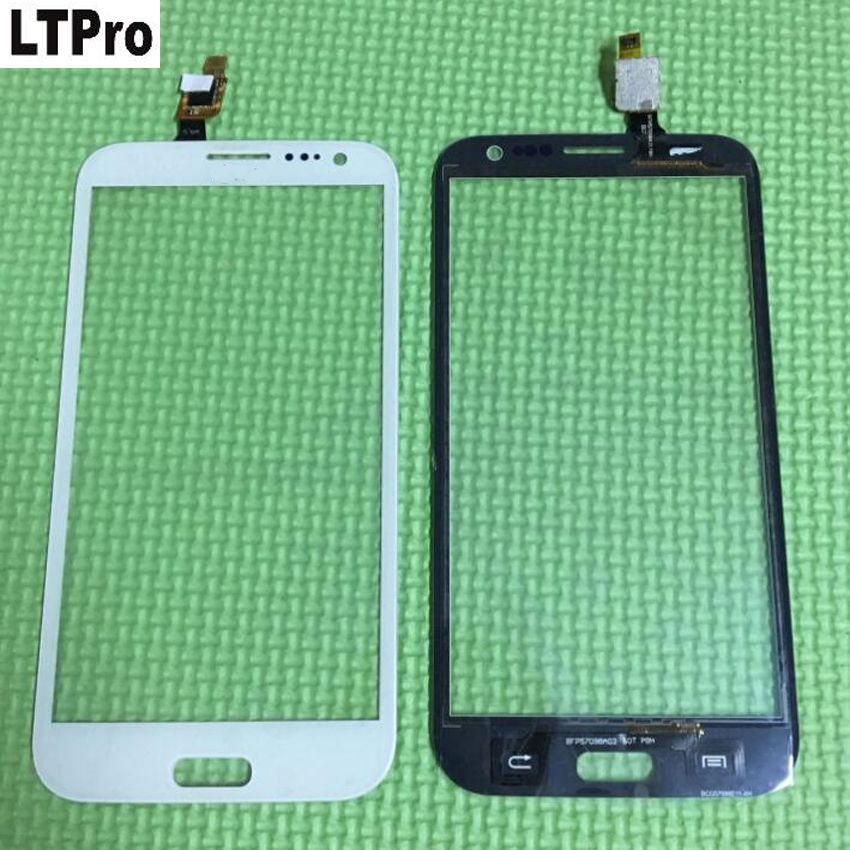 LTPro White black High Quality W7 Touch Panel Front Glass Sensor Touch Screen Digitizer For THL W7 Cell Phone Spare Parts