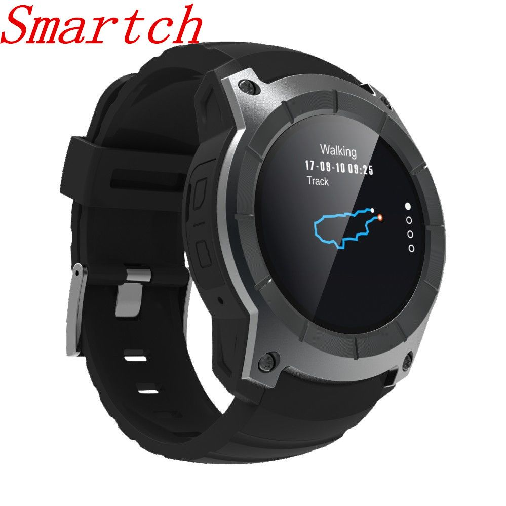 Smartch 2018 New GPS smart watch Sports Watch S958 MTK2503 Heart rate monitor Smartwatch multi-sport model for Android IOS