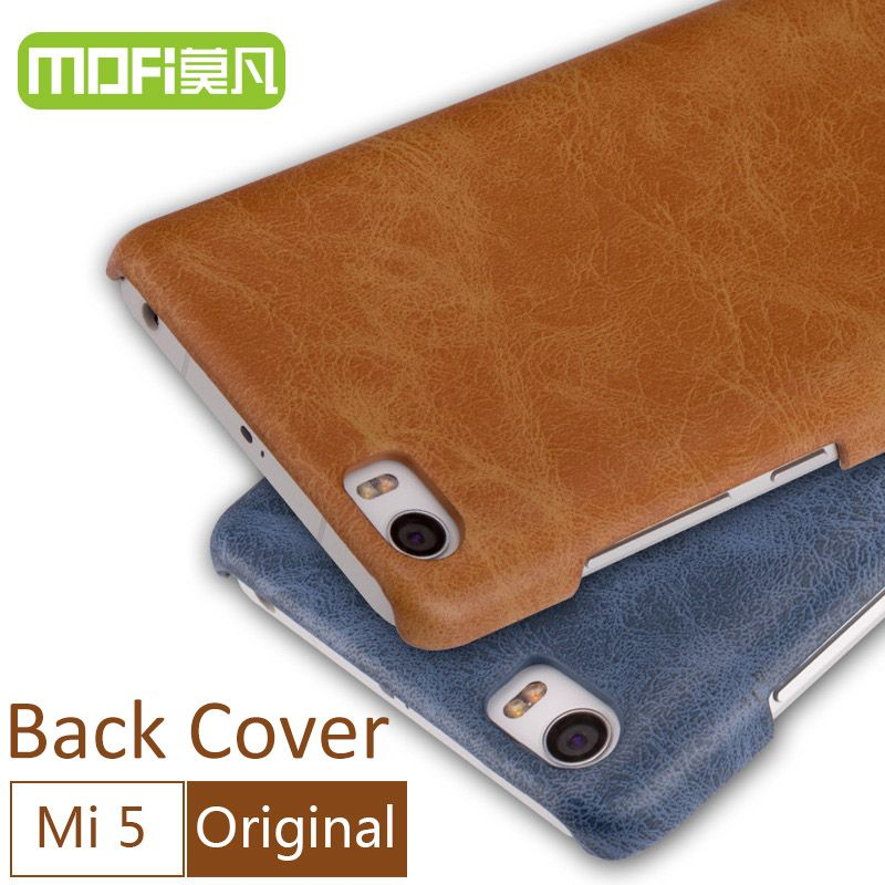 xiaomi mi5 case original MOFi back cover 2017 new xiomi mi 5 case cover leather back xiami mi5 pro 5 hard funda celular M5 5.15
