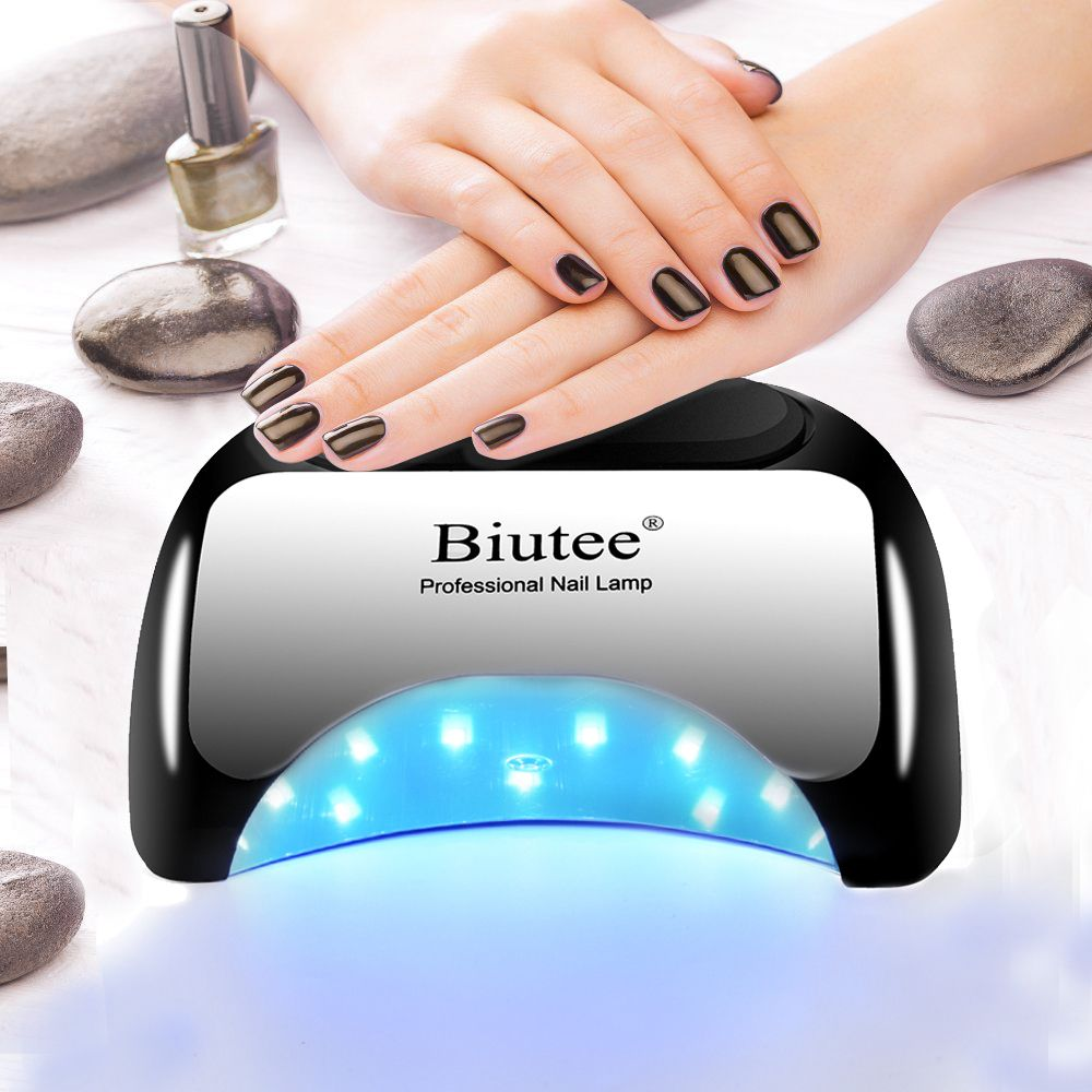 Biutee Professional 48 W LED Lamp Nail Dryer For Nail Gel Polish Curing Fast Nail Lamp Dryers Art Manicure Automatic Sensor