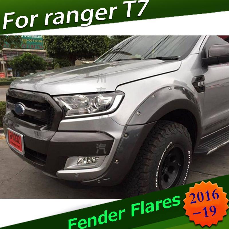 Fender Flares Für Ford Ranger Wildtrak T7 2016 2017 2018
