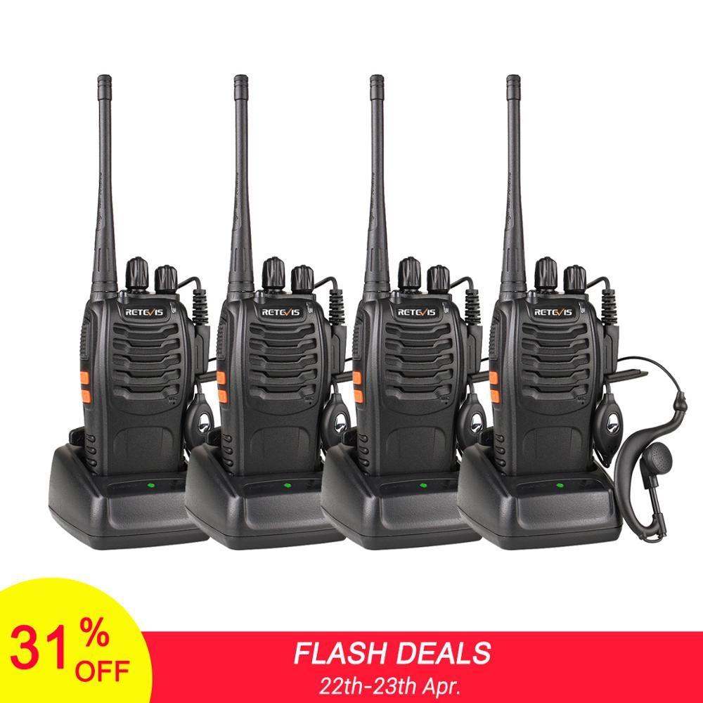 4 pièces pratique talkie-walkie rechapé H777 3 W UHF émetteur-récepteur Station de Radio bidirectionnelle communicateur Radio bidirectionnelle talkie-walkie hôtel