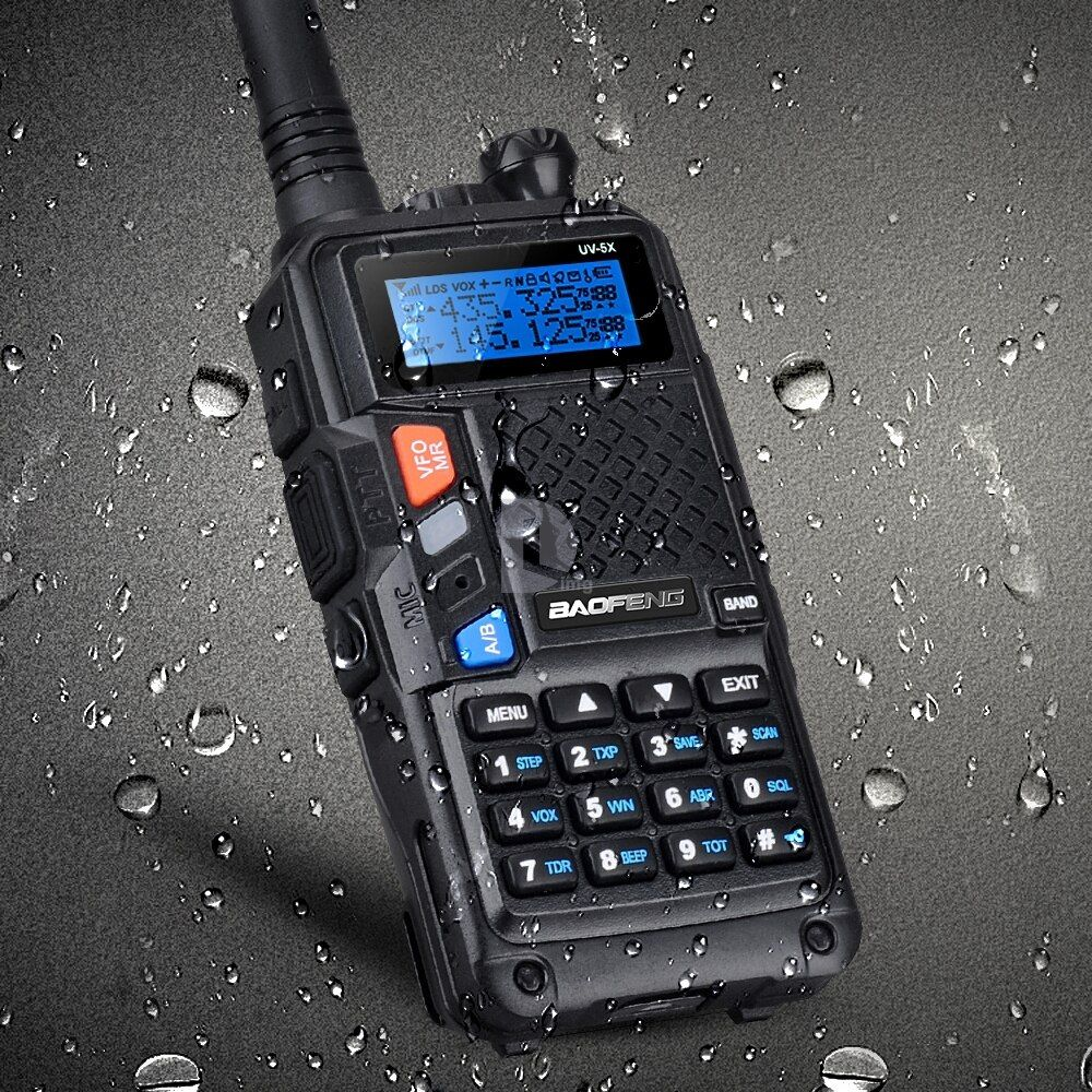 D'origine BAOFENG UV-5X Version Améliorée de UV-5R UV5R Deux-Way Radio Talkie Walkie FM Fonction D'origine Carte Principale P0015842