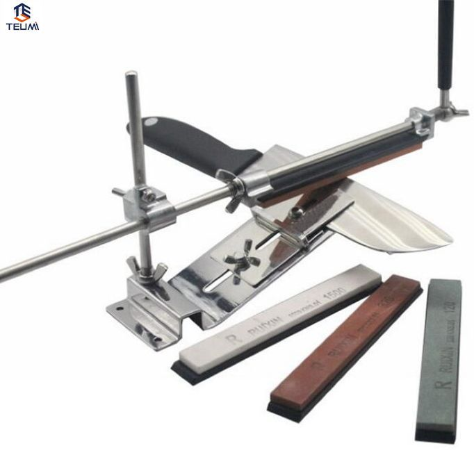 Stainless Steel Professional Knife Sharpener Tool Sharpening Machine Kitchen Accessories Grinding Knife Sharpening Set.