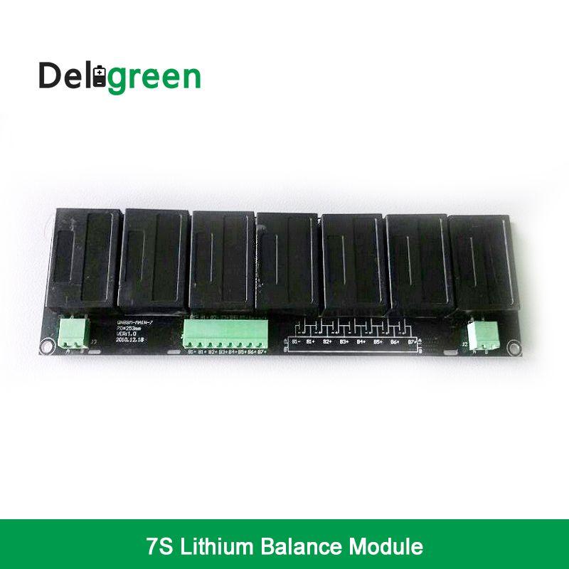 QNBBM 7 S 15 V 24 V Batterie Aktiven Balancer BMS für LIFEPO4, LTO, Polymer, LMO, LI NCM Li-Ion batterie 18650 DIY Pack