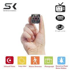 SC  Full HD Video 1080p DV DVR Mini Camera Camcorder SQ8 Micro Cam Motion Detection With Infrared Night Vision mini dv camera