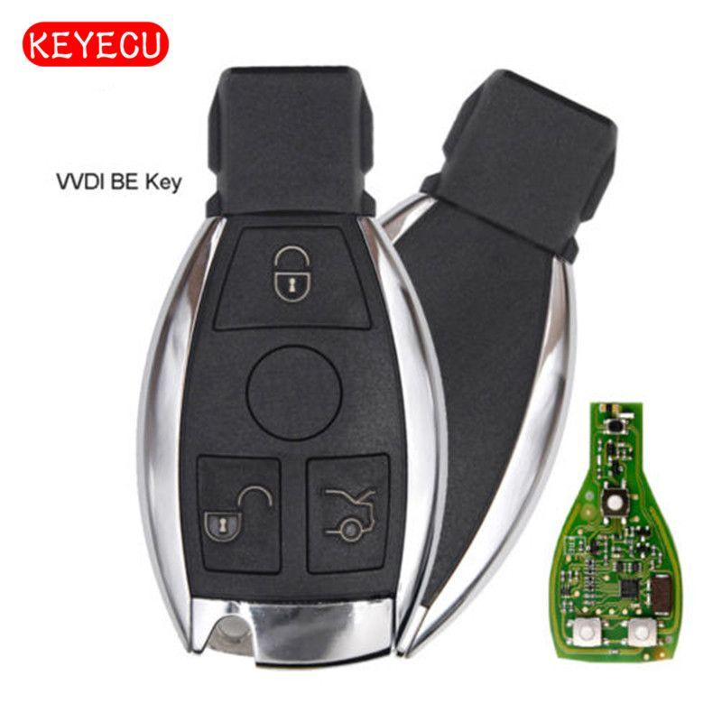 Keyecu Xhorse VVDI BE Key Pro Improved Version Complete Remote Key 315MHz/433MHz for Mercedes-Benz