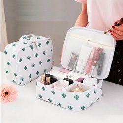 JIARUO Damen Männer Frauen Make-up Make-Up Organizer Bag Kosmetik Tasche Toiletry Tragbare Outdoor Reise Kits Business Lagerung tasche