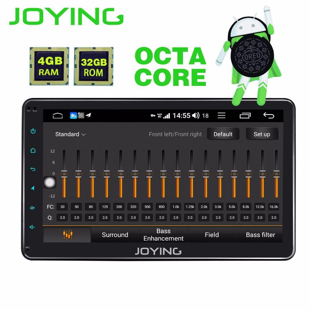 JOYING 1DIN Android 8.1 Autoradio 10,1