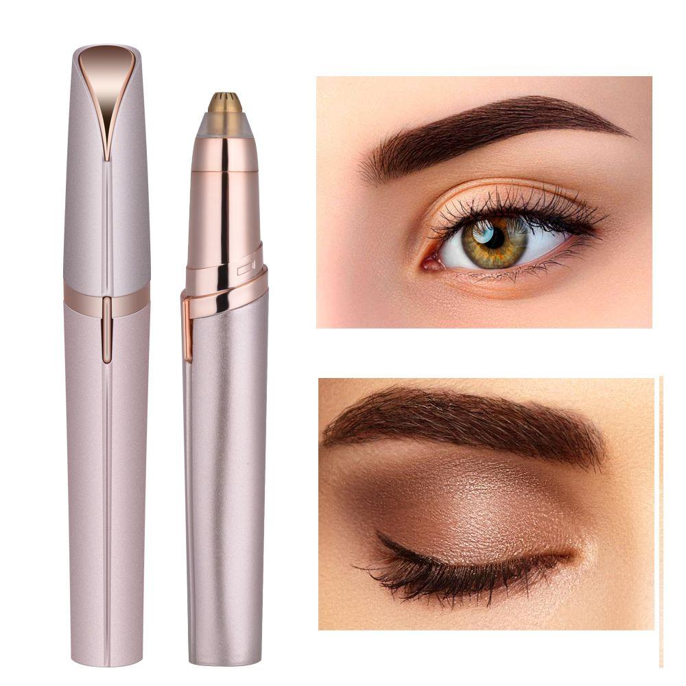 Épilateur électrique pour le visage épilateur à sourcils Mini rasoir à sourcils rasoir Portable indolore instantané rasage rasoir de sourcils