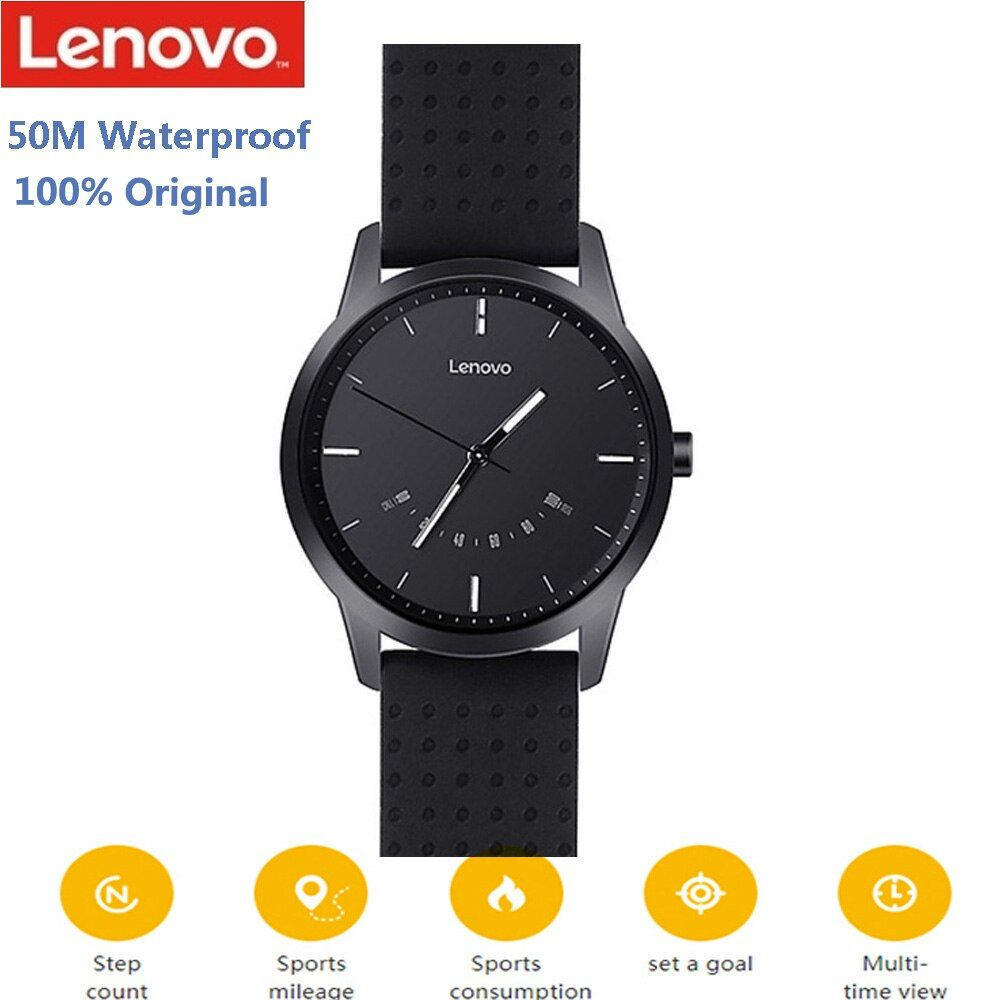 Lenovo Watch 9 Bluetooth Smartwatch Heart Rate Sleep Monitor Reminder Fitness Tracker 50M Waterproof Smart Watch For IOS Android