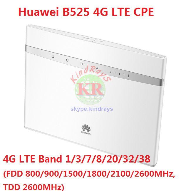 Unlocked Huawei B525 B525s-23a 4G LTE CPE Wifi Router with SIM Card Slot Band 1/3/7/8/20/32/38 PK B315 b528 e5186 e5787