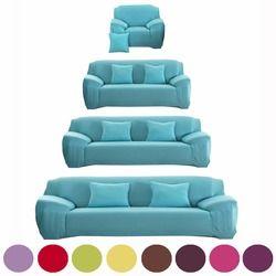 Sofa Penutup Fleksibel Peregangan Besar Elastisitas Sofa Penutup Sofa Mebel Cover untuk Satu, Dua, Tiga, Empat Kursi Lembut Flanel Slipcove