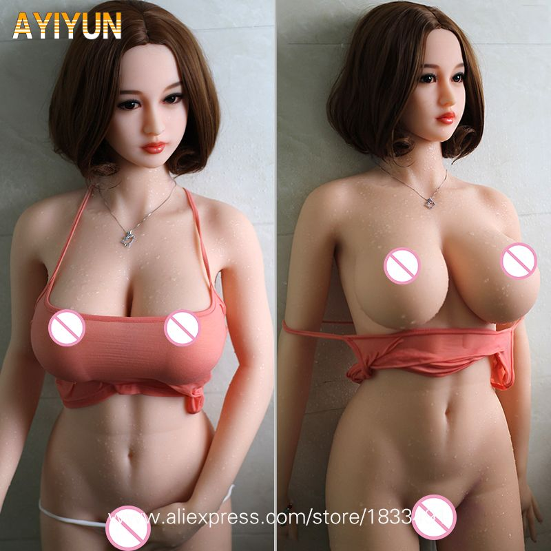 AYIYUN Sex Doll for Men Realistic Silicon Masturbator Vagina Pussy Adult Japanese Sexy Toys Metal Skeleton Sexy Love Doll