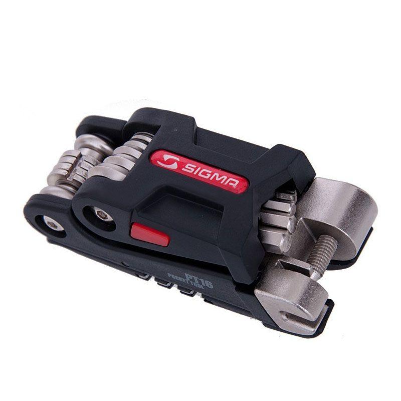 Multifonction PT16 kits d'outils de poche de réparation de vélo Mini ensemble d'outils de vélo Portable clé à rayons hexagonaux outils de tournevis de Cycle de montagne