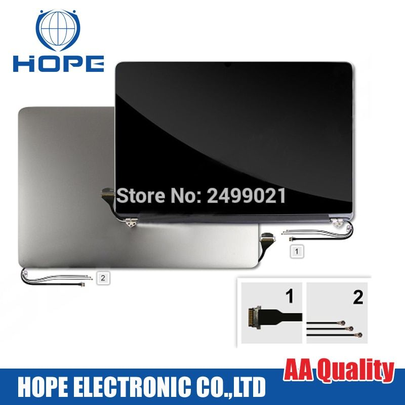 98% New Late 2013 Mid-2014 A1398 LCD LED Screen For Macbook Pro 15''Retina A1398 LCD Screen Assembly 661-8310 2880x1800
