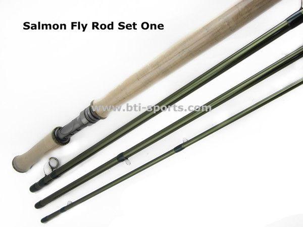 Freies verschiffen Aventik 12'6 ''LW8/9, 4SEC Salmon fly stangen Angelrute NEUE