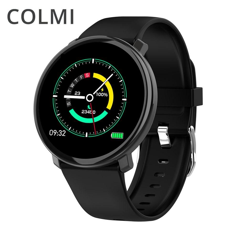 COLMI montre intelligente M31 plein écran tactile IP67 étanche plusieurs Sports Mode bricolage montre intelligente visage pour Android et IOS