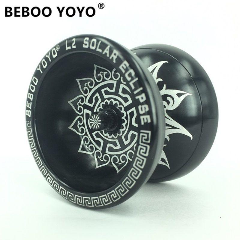 BEBOO YOYO Professional Yoyo Set Alloy Metal Diabolo Yo yo Glove Ropes L2 Color Yo-yo High Quality Classic Toy Gift For Children