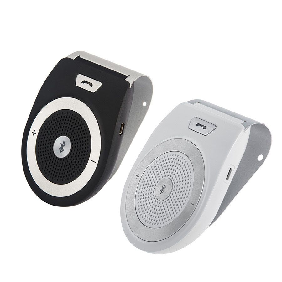 2016 High Quality Wireless Bluetooth Car Kit Speaker Speakerphone Handsfree Car Kit