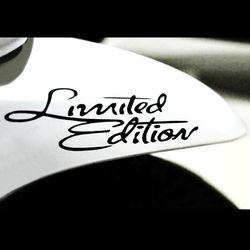 Car Styling Etiqueta de edición limitada divertido Auto Car Sticker Badge Decal pegatinas para Suzuki Honda Kawasaki