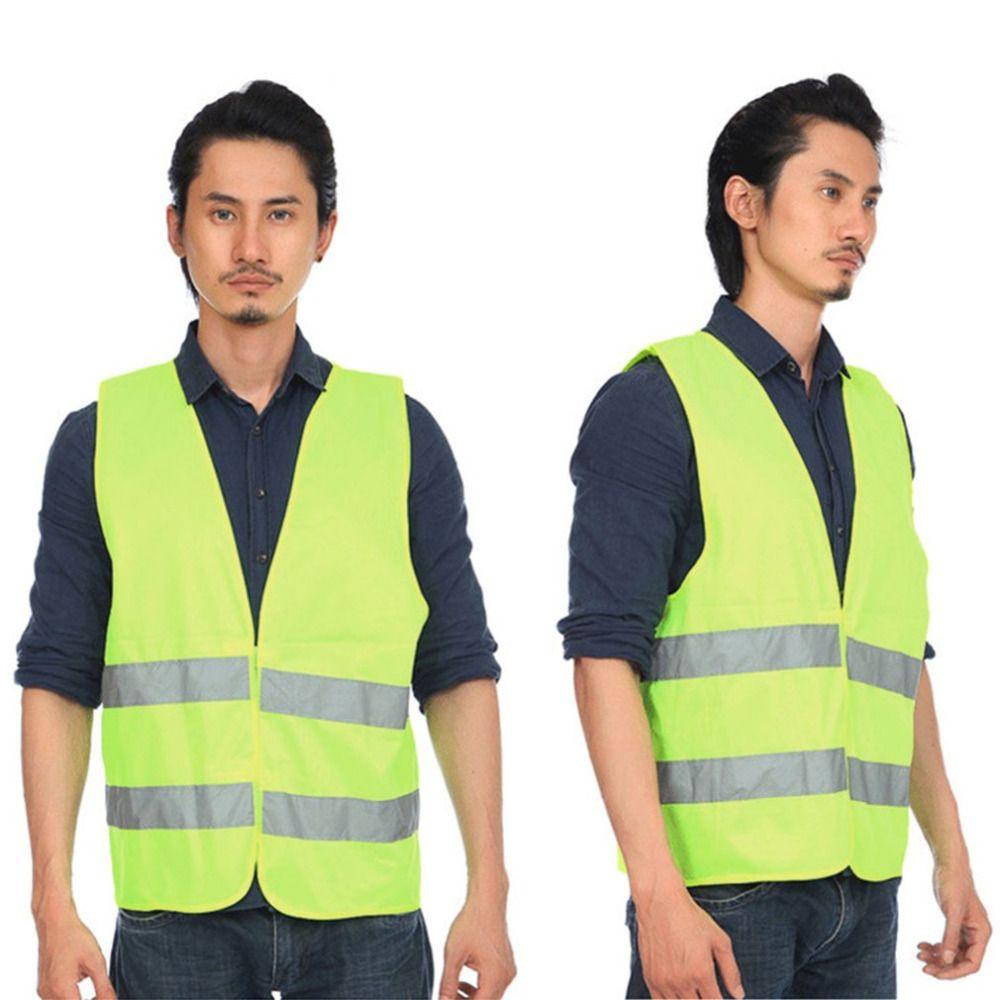 Hohe Sichtbarkeit Reflektierende Fluoreszierenden Weste Outdoor Sicherheit Kleidung Lauf Contest Weste Sicher Licht-Reflektierende Lüften Weste