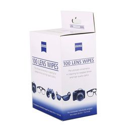 wholesale price 100 counts ZEISS pre-moistened individually wrapped screen cleaning cleaner