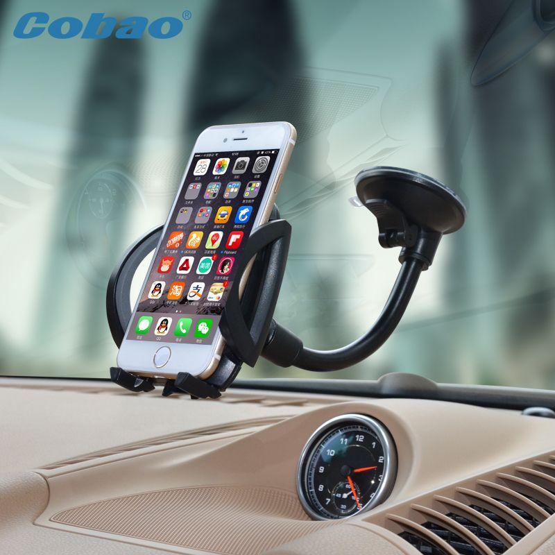 Universal mobile téléphone stand de support de voiture de pare-brise holder pour xiaomi note iphone 4s 5 5S 6 6 s galaxy S3 4 5 6 7 Note 3 4 5