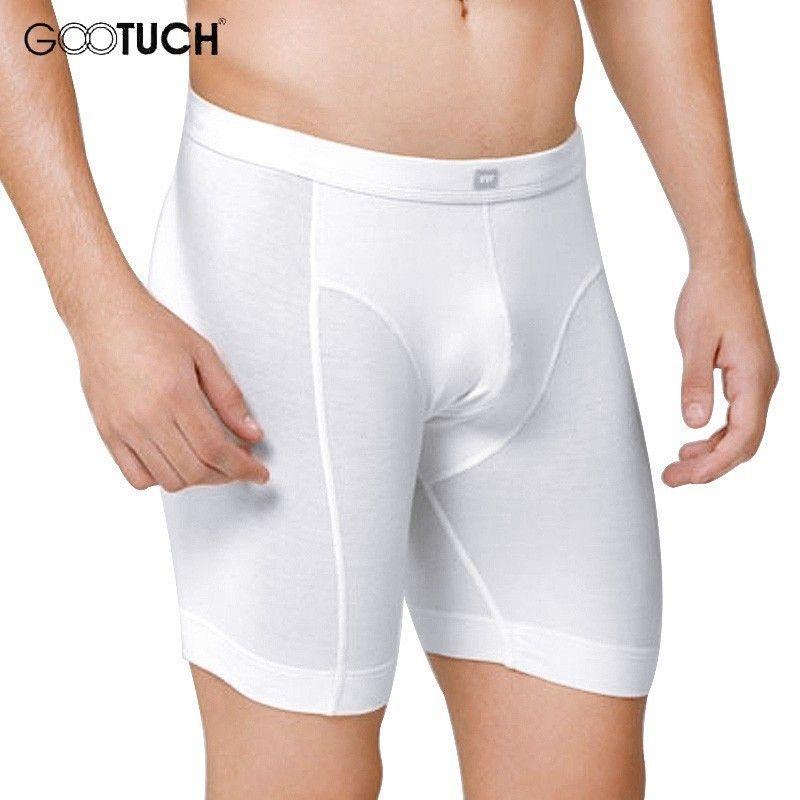 Hommes Boxer Shorts serré Long Boxer hommes musculation sous-vêtements Compression Ropa intérieur Hombre grande taille Boxers 6XL 7XL 5158