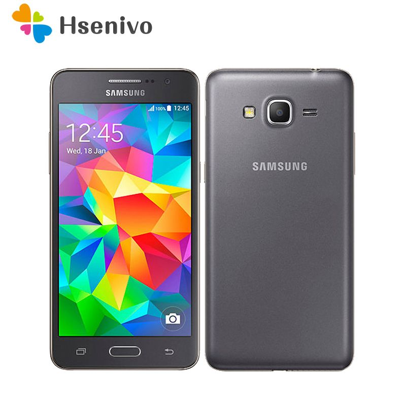 Original Samsung Galaxy Grand Prime G530 G530H Unlocked Cell Phone Ouad Core Dual Sim 1GB RAM 5.0 Inch Touch Screen refurbished