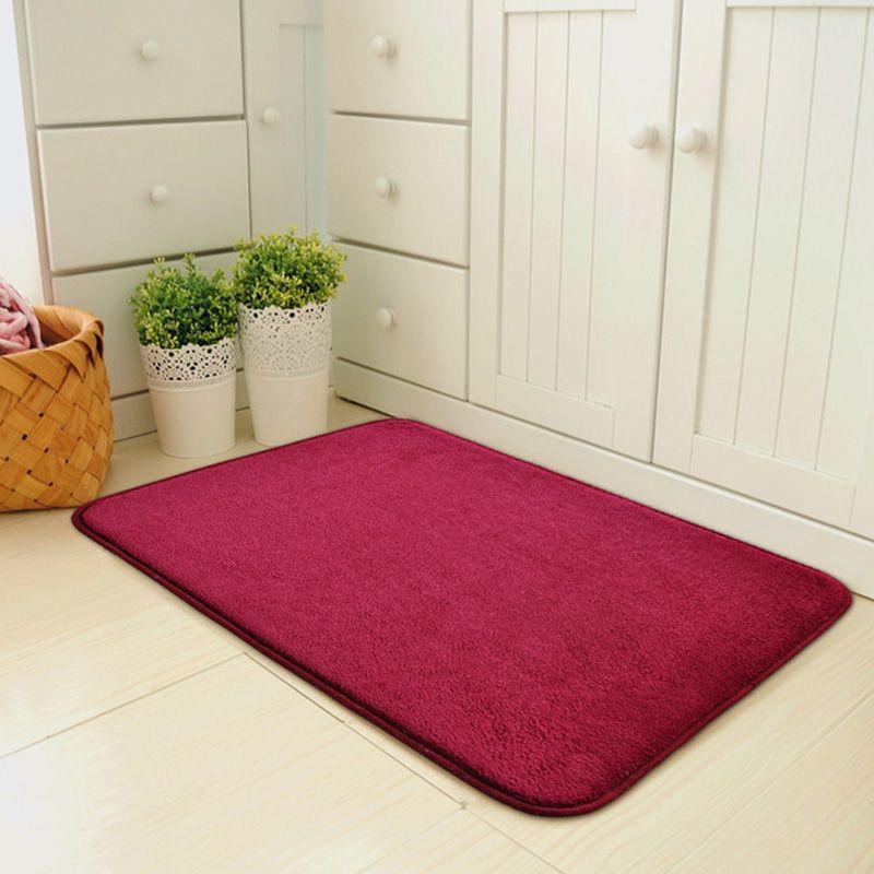 Pratique magique tapis de porte antidérapant Dirts trappeur intérieur Super absorbant paillasson LXY9 FE14