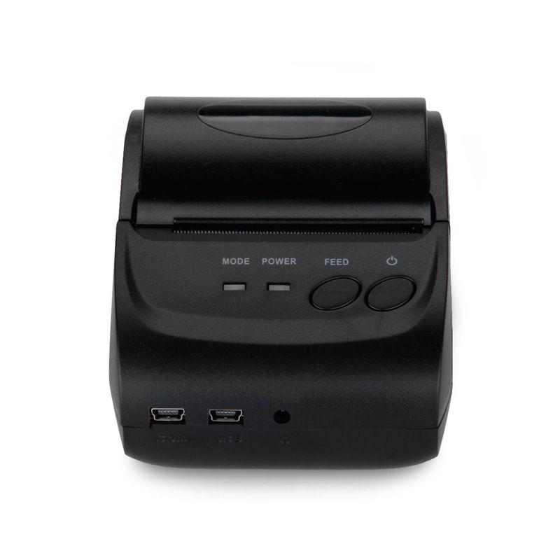 Bluetooth Wireless Mobile 58mm Mini Thermobondrucker Tragbaren mit SDK unterstützung andriod und IOS