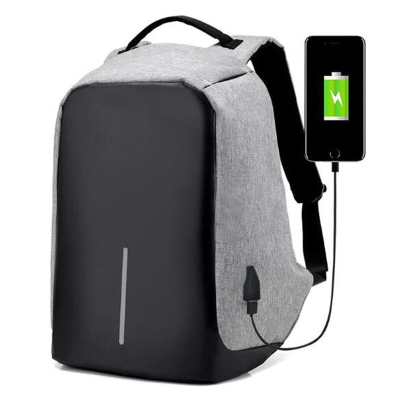 TOP POWER Men Backpack Anti theft multifunctional Oxford Casual Laptop Backpack Fashion Waterproof Travel Bag Computer Bag