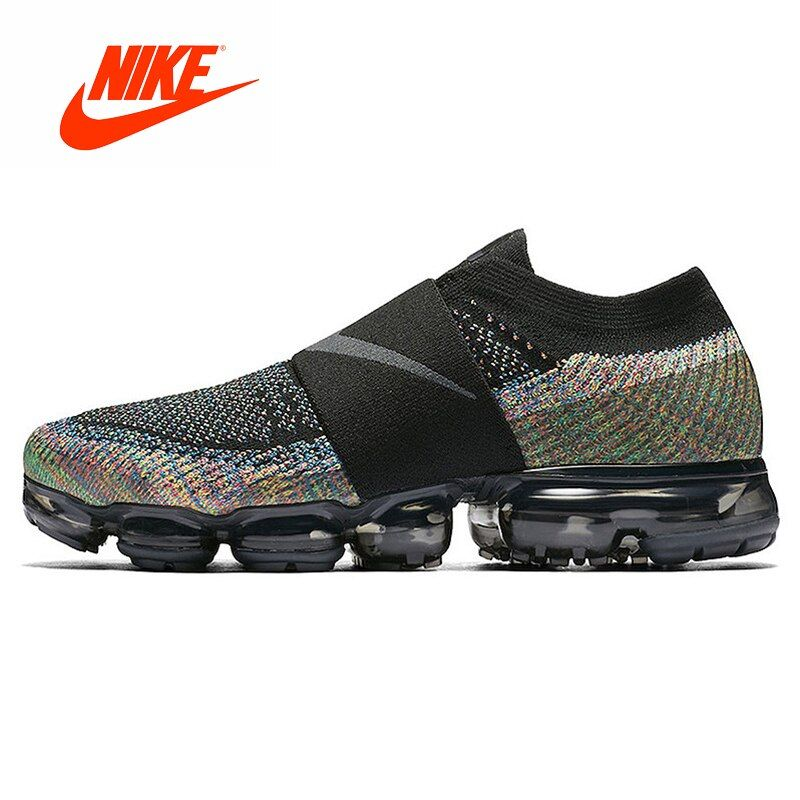 Original New Arrival Authentic Nike Air VaporMax Moc Rainbow Cushion Men's Running Shoes Sports Sneakers Outdoor Breathable
