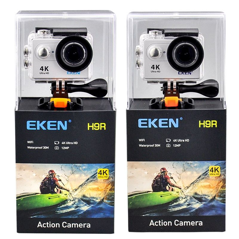 EKEN H9 H9R Ultra FHD 4K 25FPS Wifi Action Camera 30M waterproof <font><b>1080p</b></font> 60fps underwater go Remote extreme pro sport cam